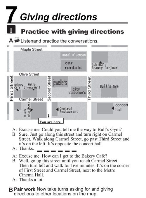 essay about giving direction